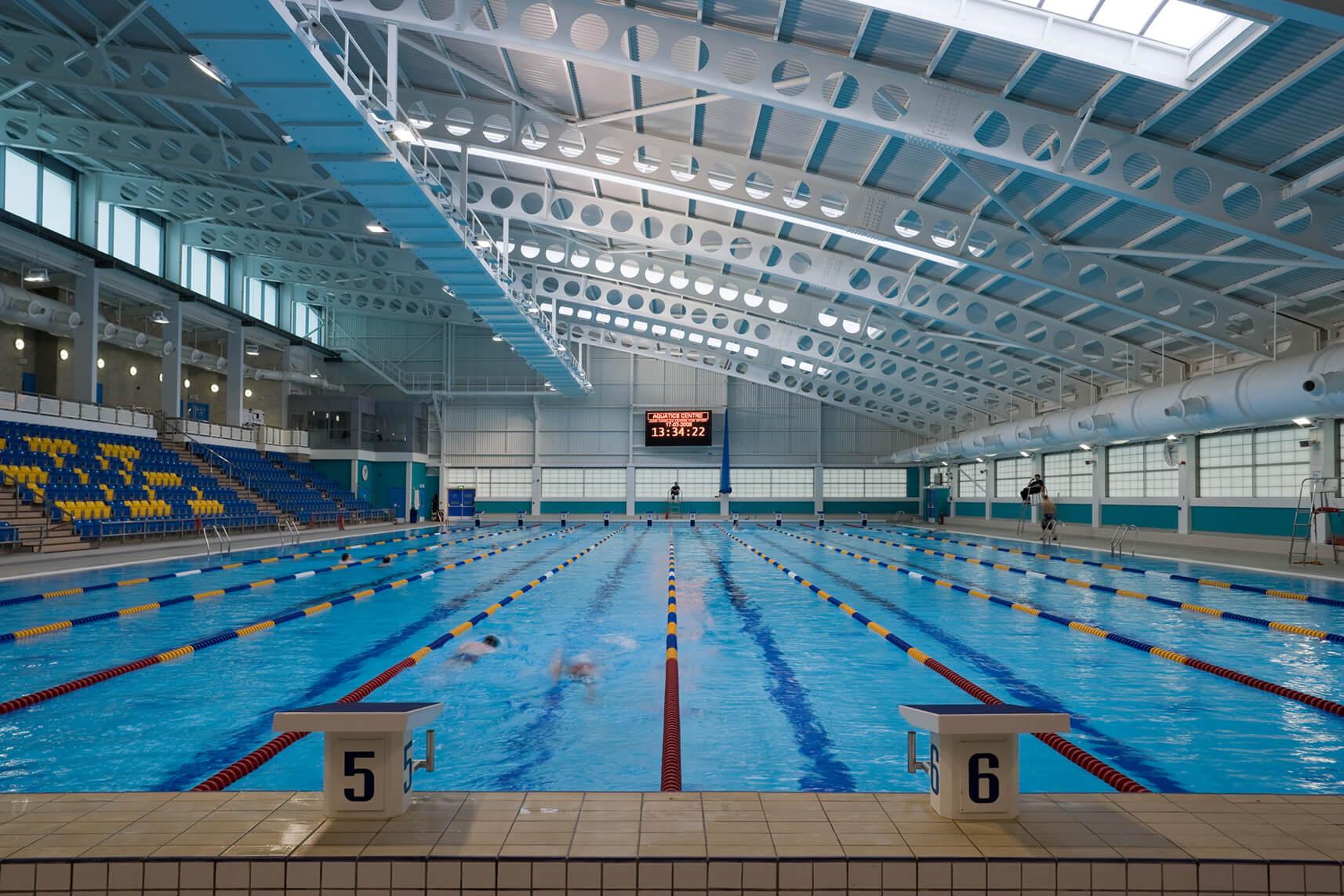 leeds aquatics centre william saunders