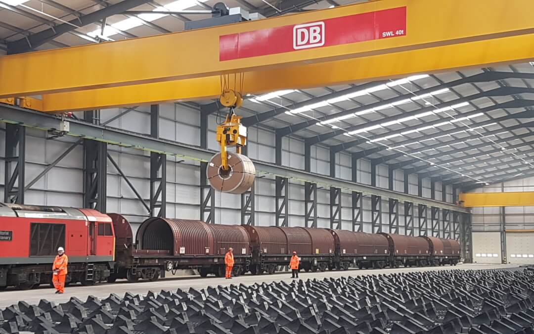 Brexit-busting new rail freight terminal opens in Wolverhampton!