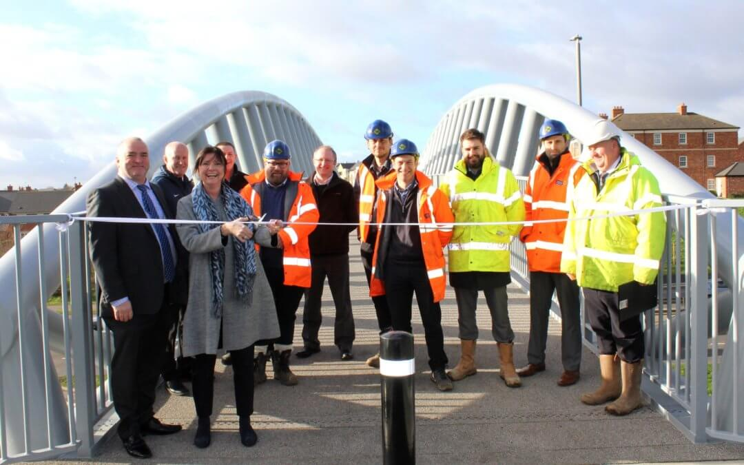 £1.5m Birstall Footbridge Officially Opened