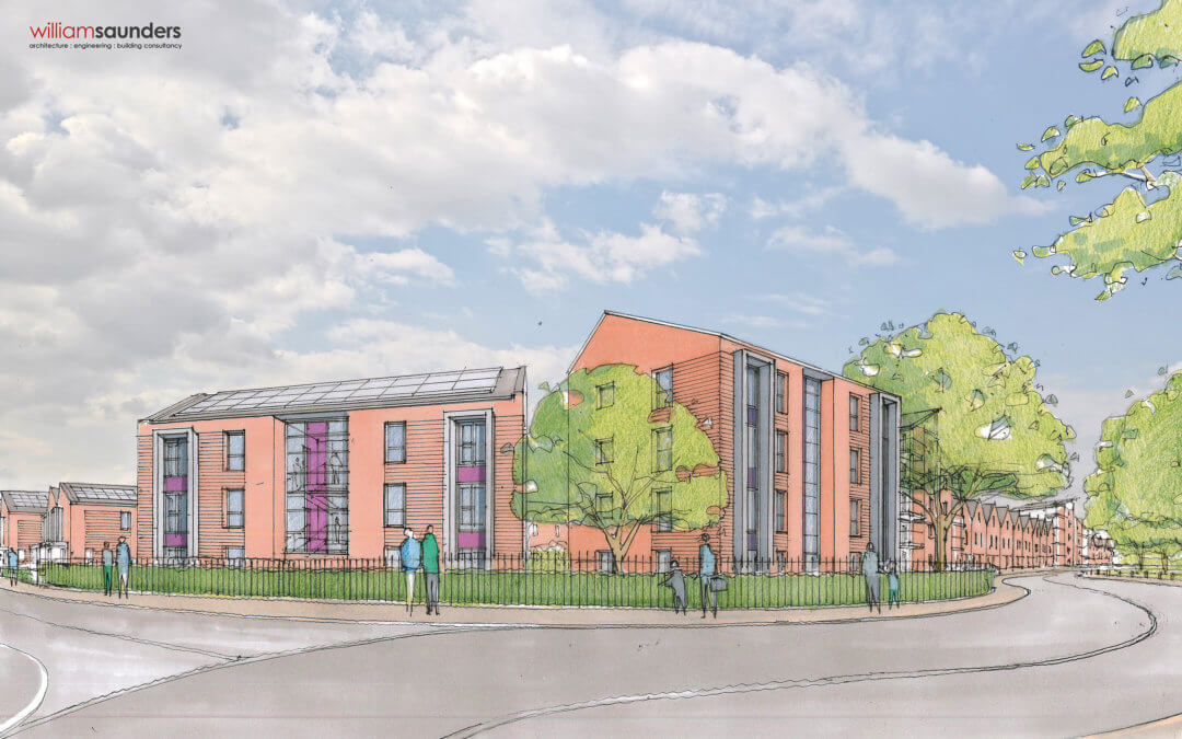 UK's largest modular council housing development