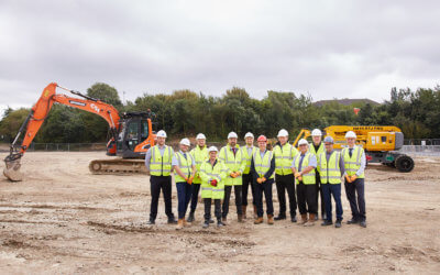Development Gets Under Way at Ashroyd Business Park