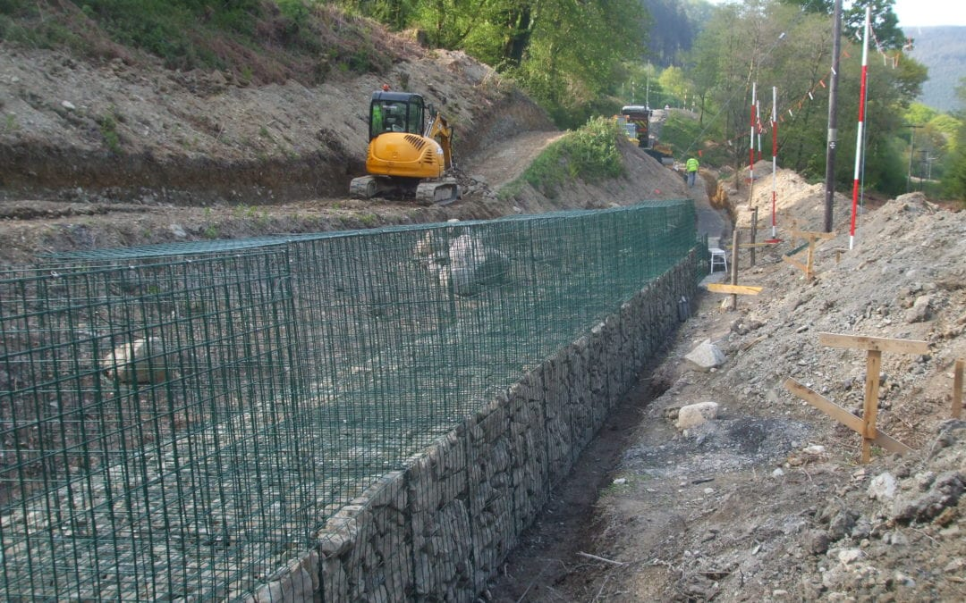 Corris Railway – Southern Extension Works